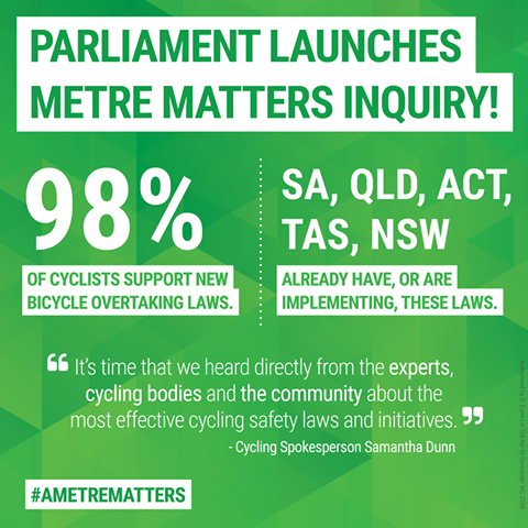 Samantha Dunn MP: Metre Matters - Community Submissions